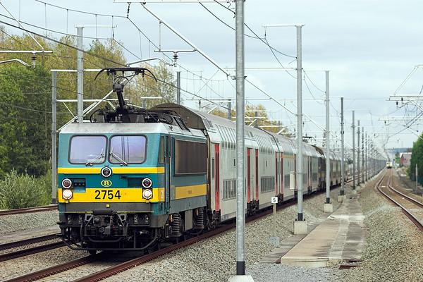 2754 Erps-Kwerps 5/10/2011 IC1538 1539 Tongeren-Knokke/Blankenberge