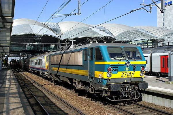 2714 Leuven 4/3/2013 IC1734 1208 Liège Guillemins-Saint Ghislain