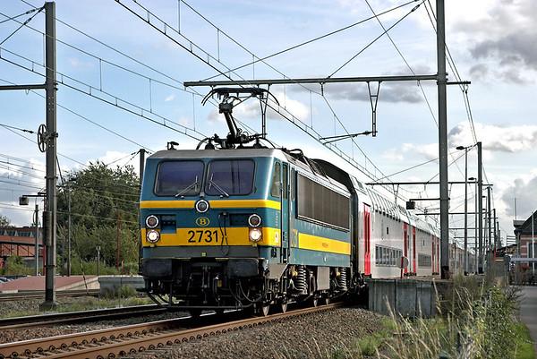 2731 Kontich 7/10/2011 IC2014 1407 Charleroi Sud-Antwerpen Centraal
