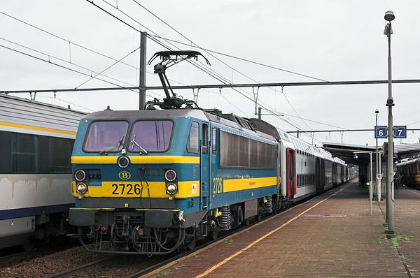 2726 Braine-Le-Comte 5/10/2011 IR3733 1136 Bruxelles Nat Aéroport-Quevy
