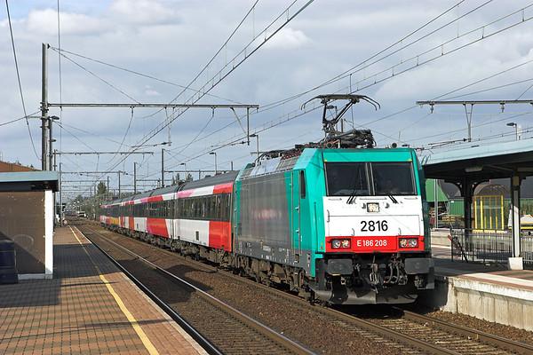 2816 Kontich 7/10/2011 IC9240 1253 Amsterdaam Centraal-Bruxelles Midi