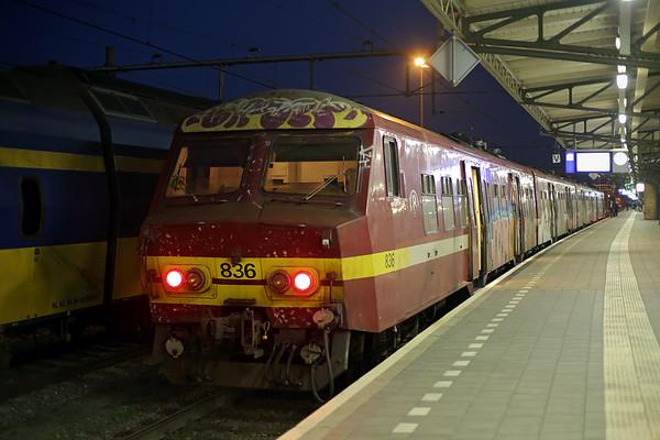 836 Roosendaal 22/10/2016 IC9260 1947 Roosendaal-Bruxelles Midi