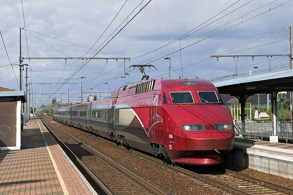 4536 Kontich 7/10/2011 THA9338 1316 Amsterdaam Centraal-Paris Nord