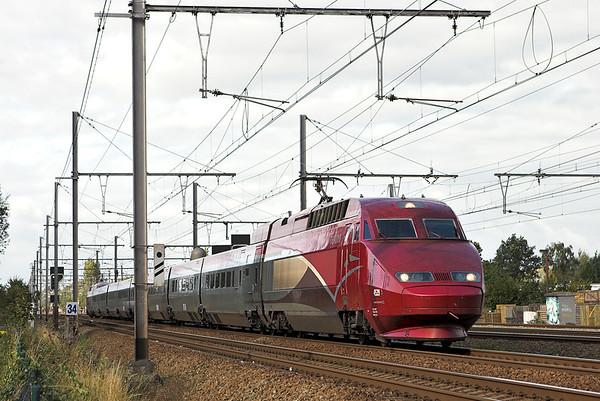 4539 Kontich 7/10/2011 THA9342 1416 Amsterdaam Centraal-Paris Nord