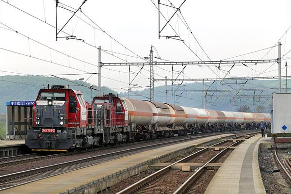 CZ Loko 742703 and 742705, Prackovice nad Labem 30/4/2015