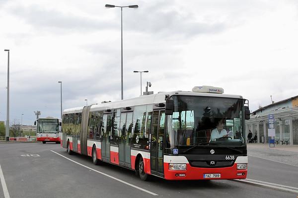 6638 1AZ-7589, Nádraží Veleslavin 1/5/2015