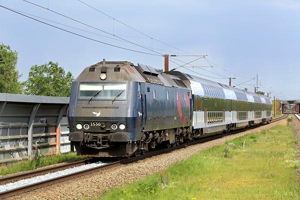 ME1530 Trekroner 17/7/2015 RE1549 1544 Østerport St-Kalundborg St