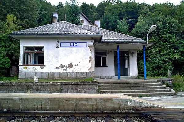 Lič Station, Croatia 12/9/2010
