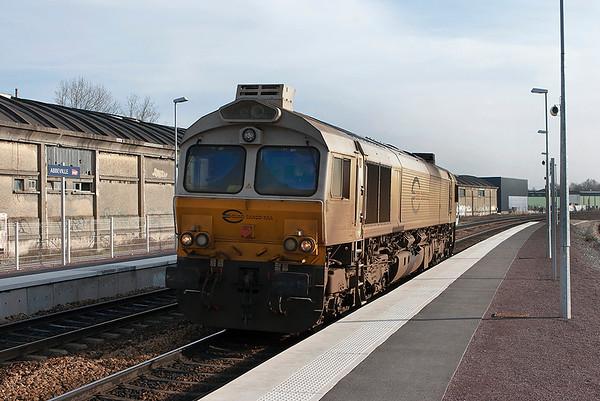 Euro Cargo Rail 77014, Abbeville 17/2/2011