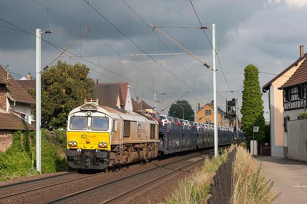 Euro Cargo Rail 77002, Hochfelden 13/9/2012