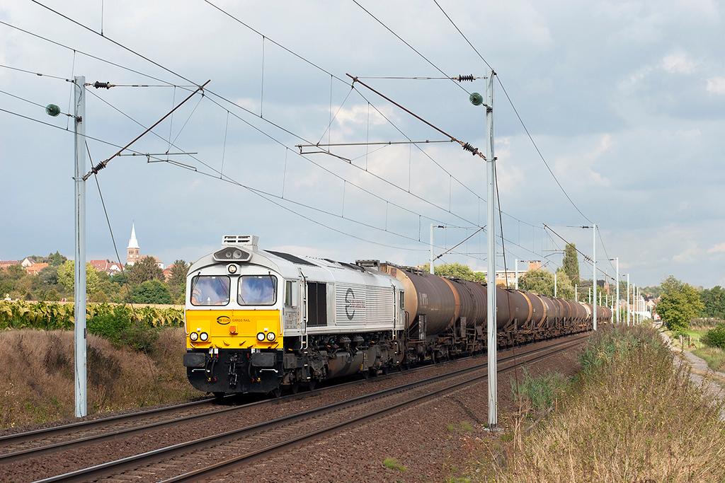 Euro Cargo Rail 77027, Hochfelden 13/9/2012