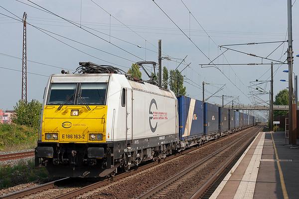 Euro Cargo Rail 186163, Benfeld 11/9/2012