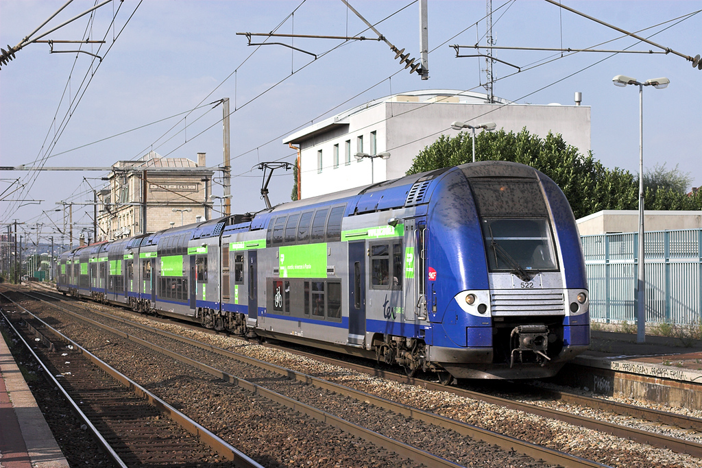 522 Saint-Denis 10/9/2012<br /> 47822 1604 Compiegne-Paris Nord