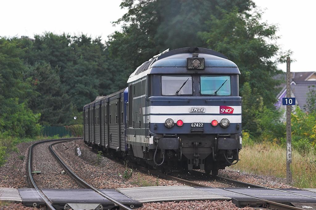 567422 Bischwiller 12/9/2012<br /> 832909 1713 Niederbronn Les Bains-Strasbourg