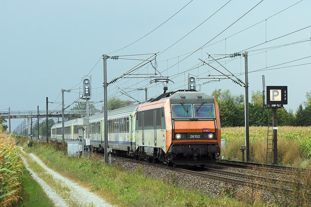 526152 Huttenheim 11/9/2012<br /> 96224 1221 Basel SNCF-Strasbourg