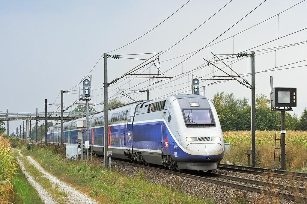 TGV4703 Huttenheim 11/9/2012<br /> TGV9582 0814 Marseille St Charles-Frankfurt (Main) Hbf