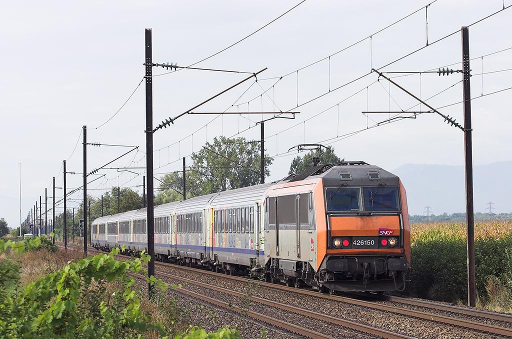 426150 Huttenheim 13/9/2012<br /> 96215 0951 Strasbourg-Basel SNCF