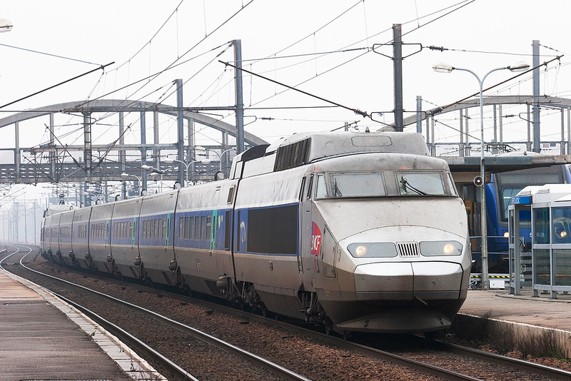 TGV01 Hazebrouk 18/2/2011<br /> TGV7336 1437 Hazebrouk-Paris Nord