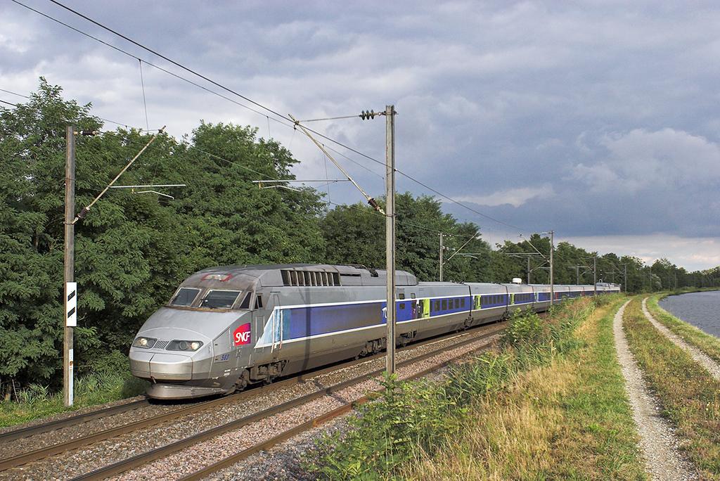 TGV503 Steinbourg 13/9/2012<br /> TGV2452 1746 Strasbourg-Paris Est