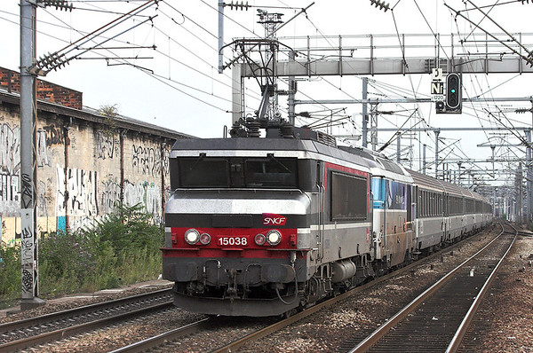 115038 and 56744, Saint-Denis 10/9/2012 12321 1907 Paris Nord-St Quentin