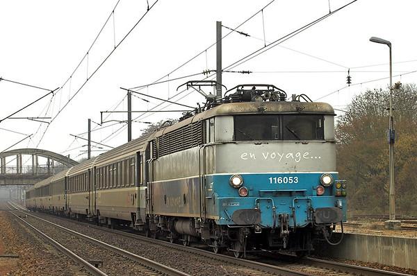 116053 Claremont de L'oise 17/2/2011 2022 1043 Boulogne Ville-Paris Nord