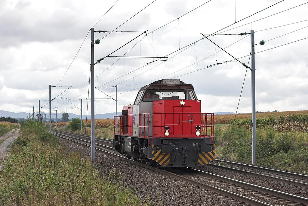 VFLI (Voies Ferrées Locales et Industrielles) BB6106, Hochfelden 13/9/2012