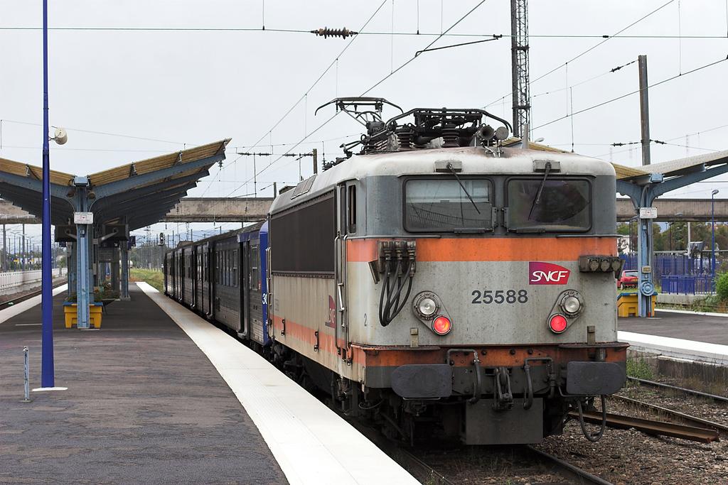 525588 Sélestat 12/9/2012<br /> 831313 0925 Strasbourg-Sélestat