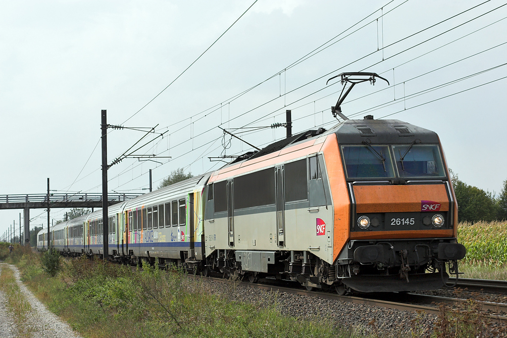 526145 Huttenheim 11/9/2012<br /> 96222 1121 Basel SNCF-Strasbourg