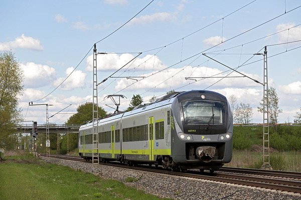 440913 Nersingen 4/5/2016 AG84266 1607 Ingoldstadt Hbf-Ulm Hbf