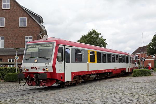 VT71 Niebüll 13/7/2015 NEG15 1205 Niebüll-Dagebüll Mole