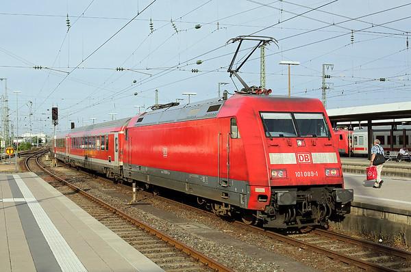 101089 Nürnberg Hbf 28/6/2017 RE4038 1712 Nürnberg Hbf-München Hbf