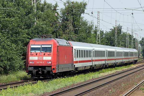 101116 Dörverden 9/6/2007 IC2039 1135 Oldenburg-Leipzig Hbf