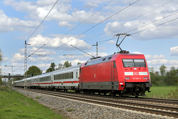 101084 Nersingen 4/5/2016 EC117 1420 Frankfurt (M) Hbf-Klagenfurt Hbf
