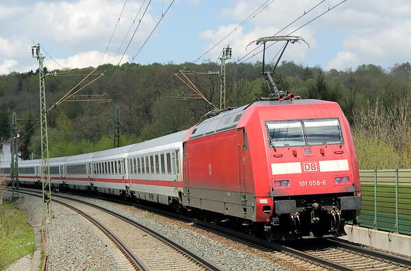 101058 Westerstetten 4/5/2016 EC218 0545 Graz Hbf-Frankfurt (M) Hbf