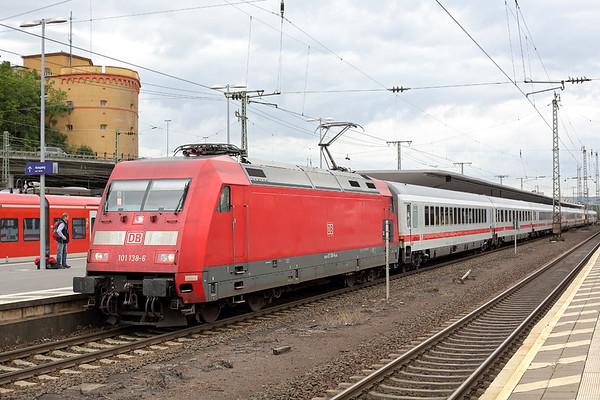101138 Koblenz Hbf 13/8/2014 IC2013 0601 Magdeburg-Oberstdorf