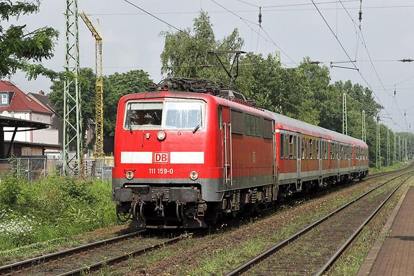 111159 Oberhausen-Holten 6/6/2007 RB20327 1028 Wesel-Mönchengladbach