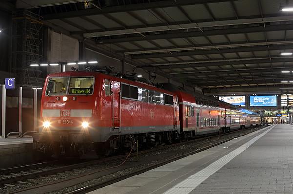 111223 München Hbf 22/2/2016 RE4866 1944 München Hbf-Nürnberg Hbf