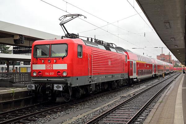 114017 Nürnberg Hbf 29/6/2017 RE19906 1036 Nürnberg Hbf-Stuttgart Hbf