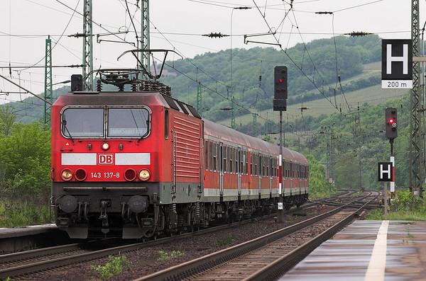 143137 Großheringen 18/5/2006 RB16321 1209 Eisenach-Halle Hbf