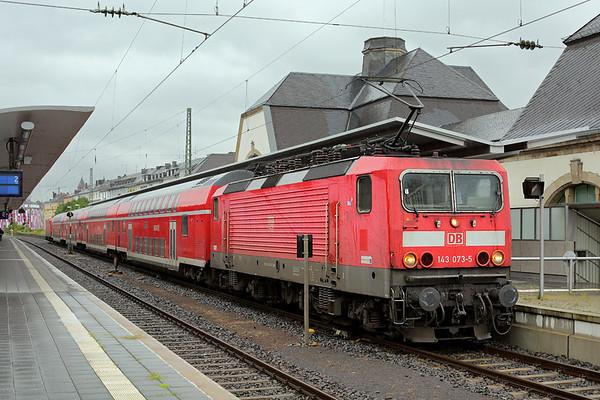 143073 Koblenz Hbf 13/8/2014 RE4293 1702 Koblenz Hbf-Frankfurt (Main) Hbf