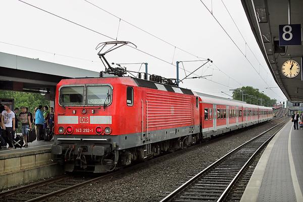 143292 Köln Messe/Deutz 14/8/2014 S6 1252 Köln Nippes-Ratingen Ost