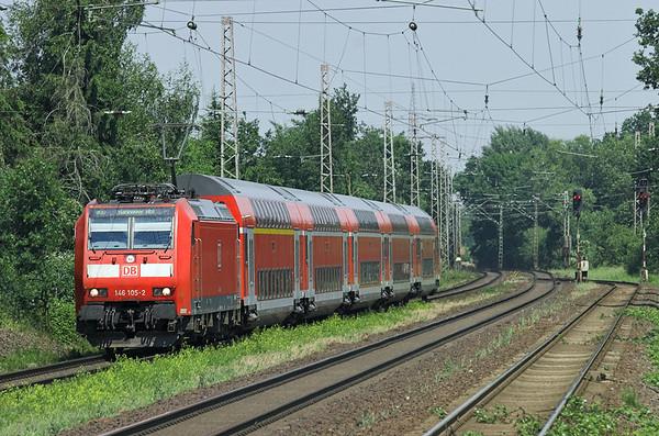 146105 Dörverden 9/6/2007 RE4417 1218 Bremen Hbf-Hannover Hbf