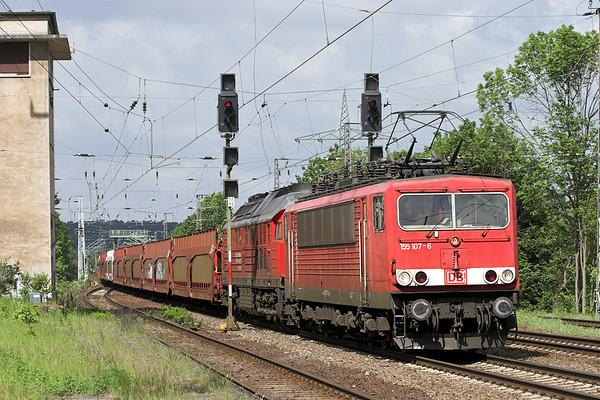 155107 and 232534, Saarmund 13/5/2011