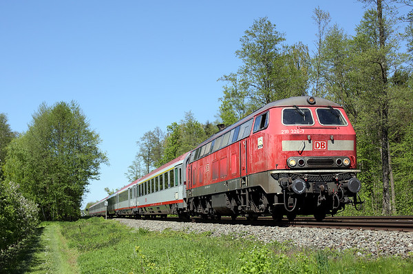 218326 Kehlen 5/5/2016 IC119 0727 Münster Hbf-Innsbruck Hbf