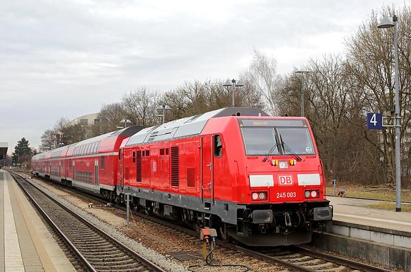 245003 Memmingen 1/12/2016 RE57406 1005 Memmingen-München Hbf