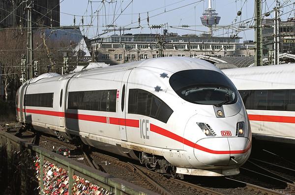 403506 Köln Hbf 5/3/2013 ICE105 0804 Amsterdam Centraal-Basel SBB