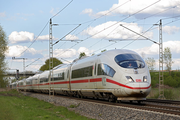 403005 Nersingen 4/5/2016 ICE512 1719 München Hbf-Münster Hbf