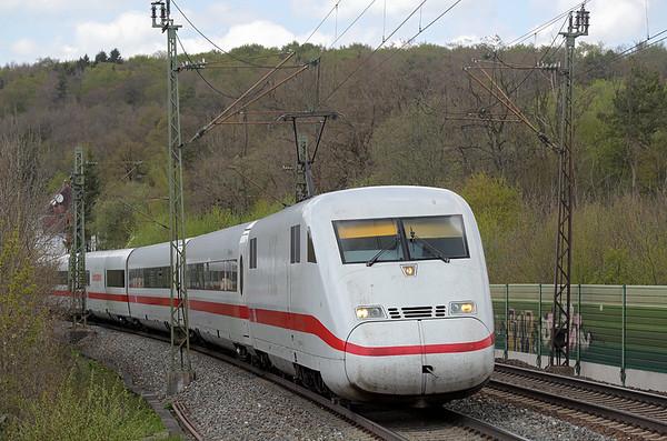 402006 Westerstetten 4/5/2016 ICE595 0656 Berlin Hbf-München Hbf