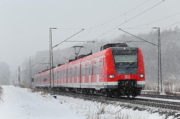 423727 München-Aubing 25/2/2016 S4 1114 Geltendorf-Ebersberg