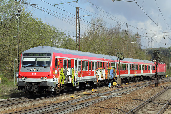 143017 (on rear), Amstetten 4/5/2016 RB19275 0959 Geislingen-Ulm Hbf